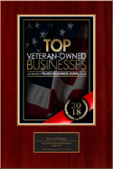 2018 Top Veteran Owned Business Award