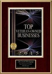 Top Veteran owned Business 2015